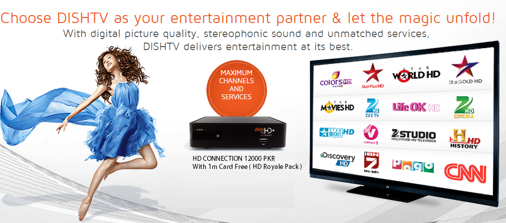 DISHTV NEW CONNECTION ORDER